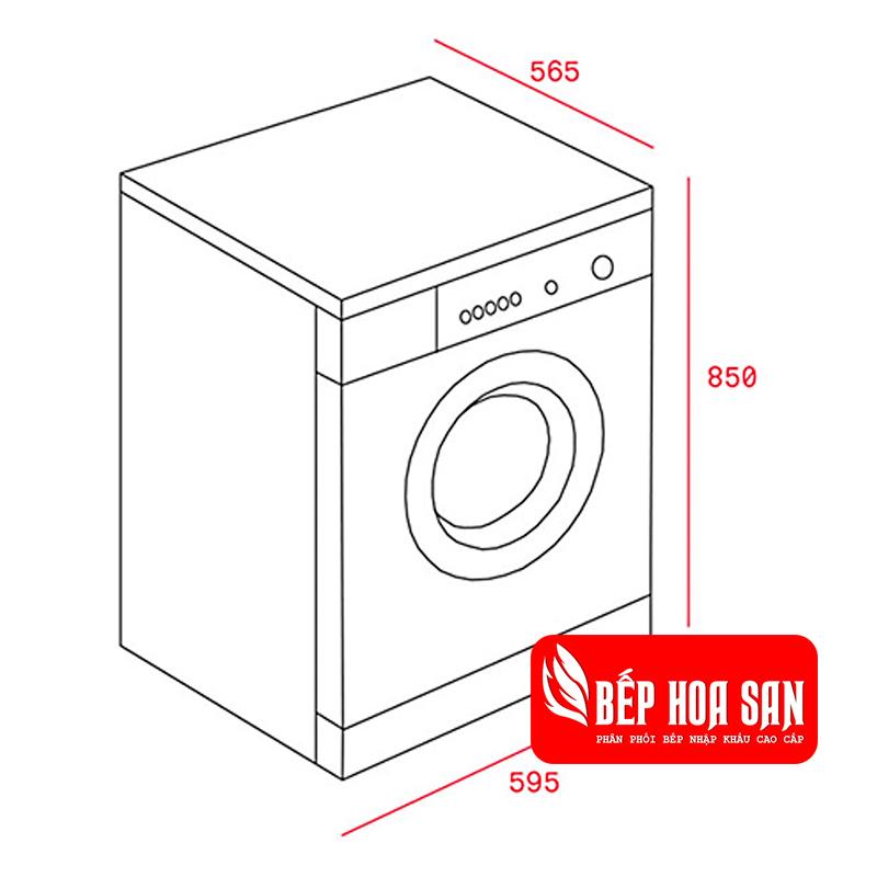 Hình ảnh Máy Giặt Sấy Kết Hợp Teka TKD 1610 WD
