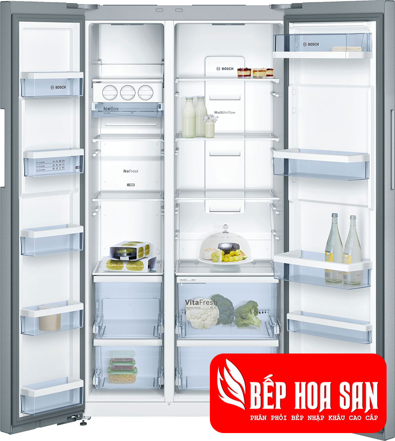 Tủ Lạnh Bosch KAN92VI35 dung tích 604 (L)