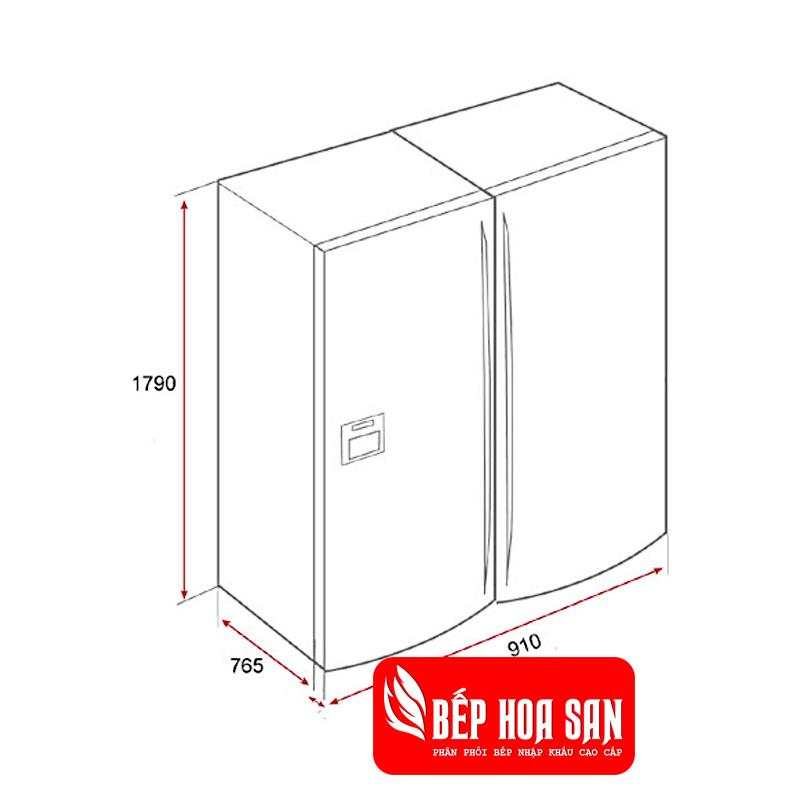 Hình ảnh tủ lạnh Teka NFD 650