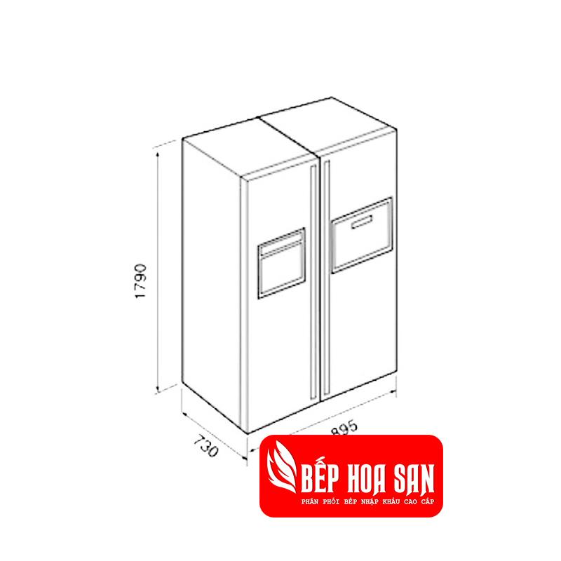 Hình ảnh tủ lạnh Teka NFD 680