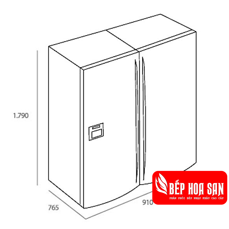 Hình ảnh tủ lạnh Teka NFE4 900 X
