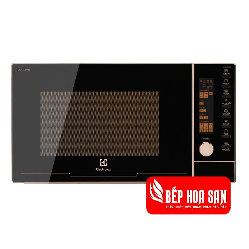Hình ảnh Lò Vi Sóng Electrolux EMG25D89GGP màu đen tinh tế