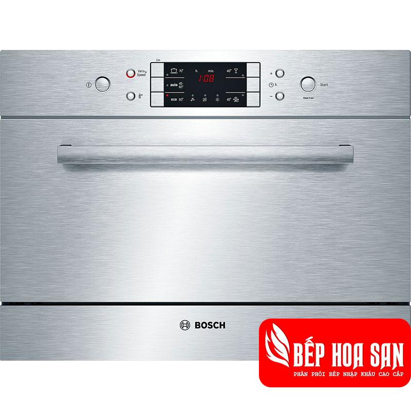 Máy Rửa Chén Bosch SKE52M65EU có khả năng rửa được 6 bộ bát đữa