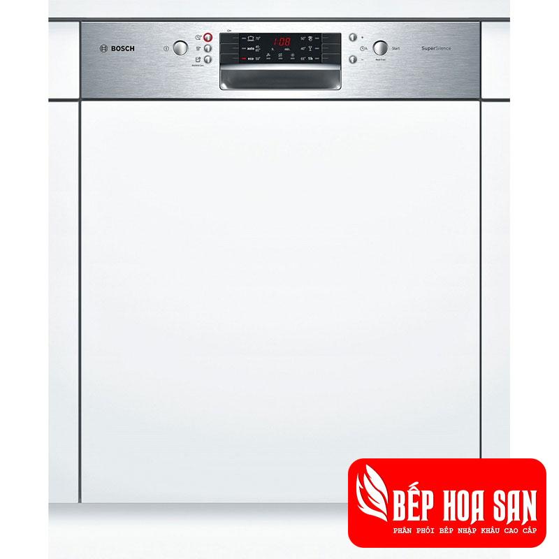 Máy Rửa Chén Bosch SMI46MS00E âm bán phần serie 4