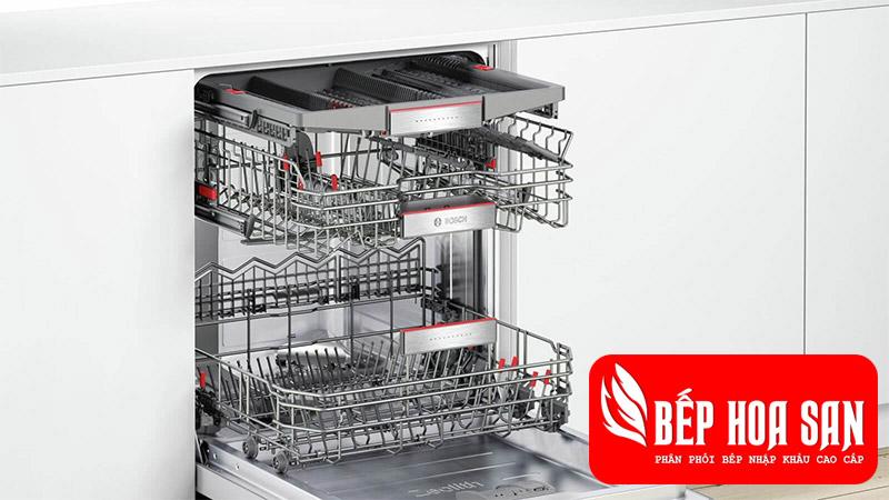 Máy Rửa Chén Bosch SMI68MS02E loại âm tủ serie 6